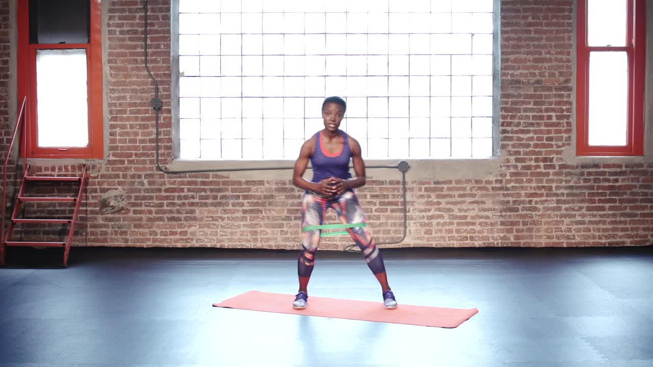 How to Do Banded Squat Walks to Prevent Knee Pain