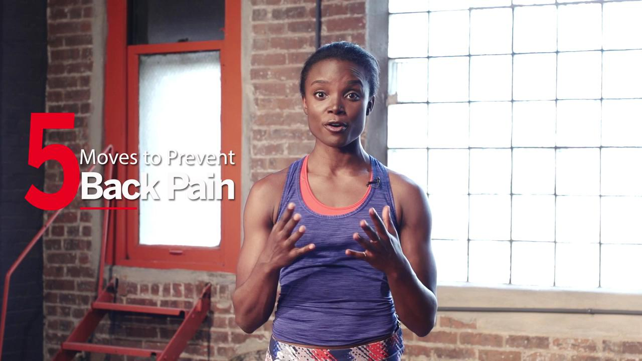 5 Moves to Prevent Back Pain