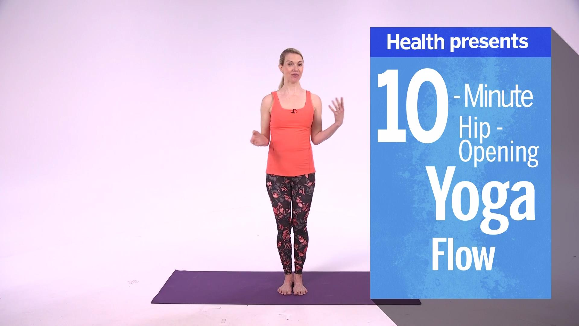 10-Minute Hip-Opening Yoga Flow