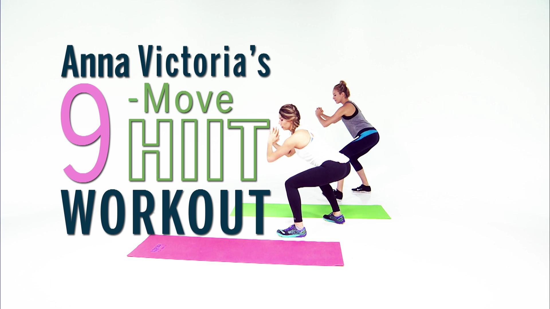 Anna Victoria's 9-Move HIIT Workout Will Tone Your Entire Body