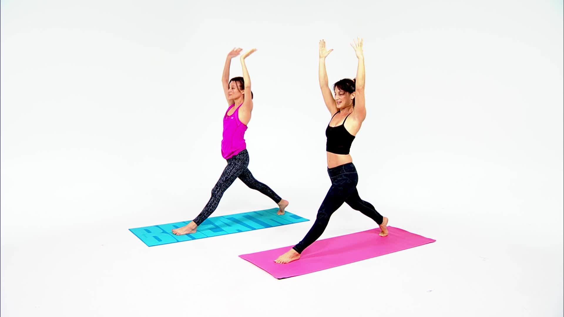 Finally, the Perfect HIIT Yoga Workout You've Been Waiting For
