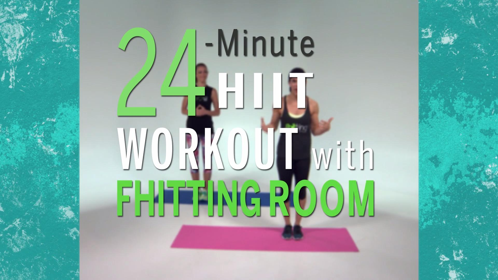 Try This Calorie-Torching HIIT Workout From the Fhitting Room