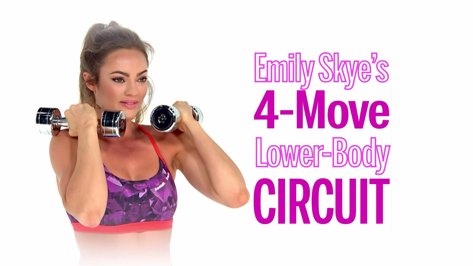 This Fat-Burning Workout by Emily Skye Will Sculpt Your Legs and Lift Your Butt
