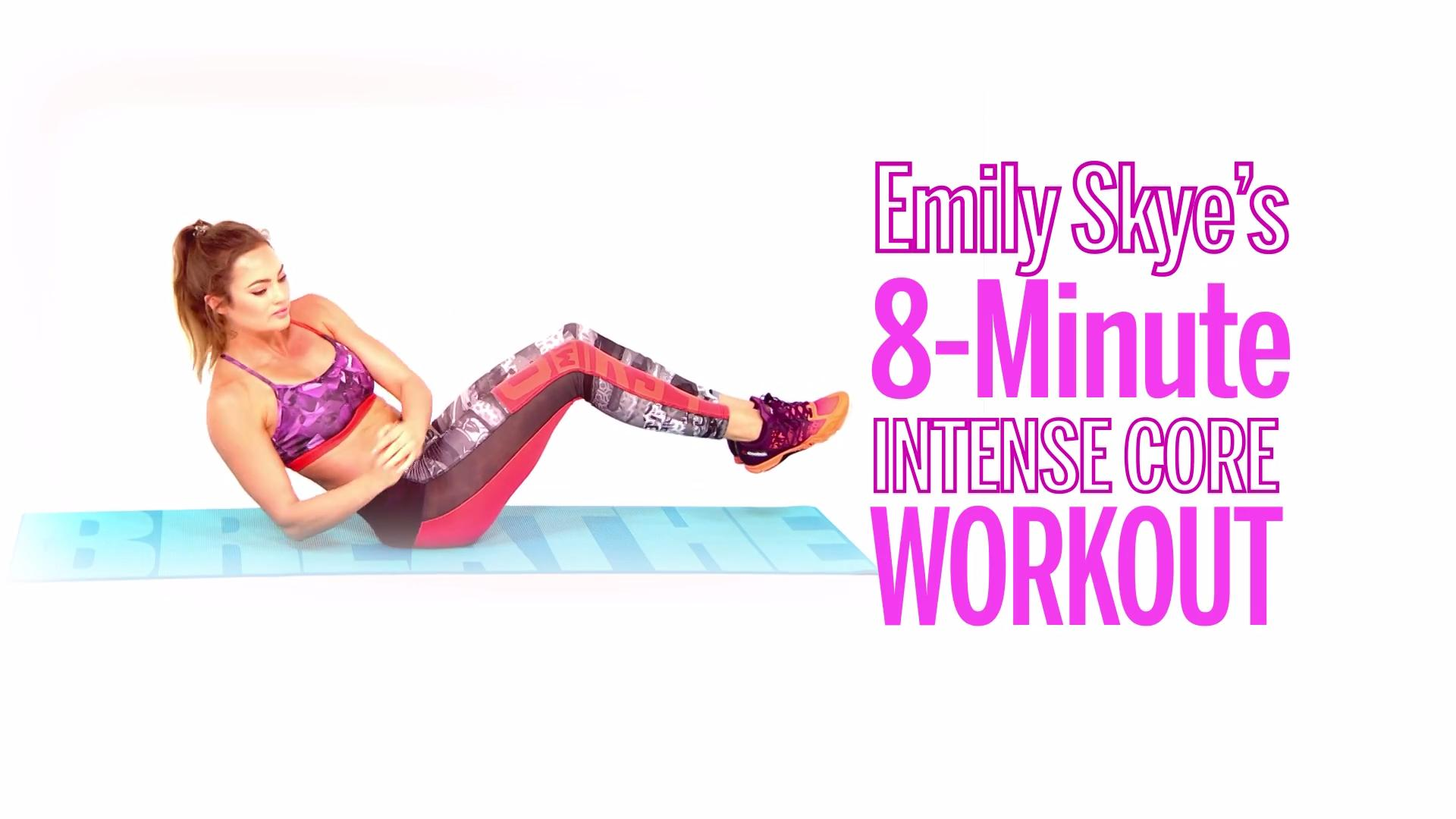 Transform Your Abs With Emily Skye's 8-Minute Core Circuit
