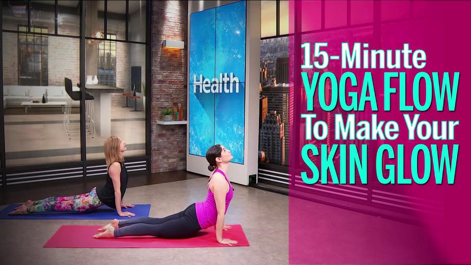 This 15-Minute Yoga Flow Will Instantly Brighten Your Skin