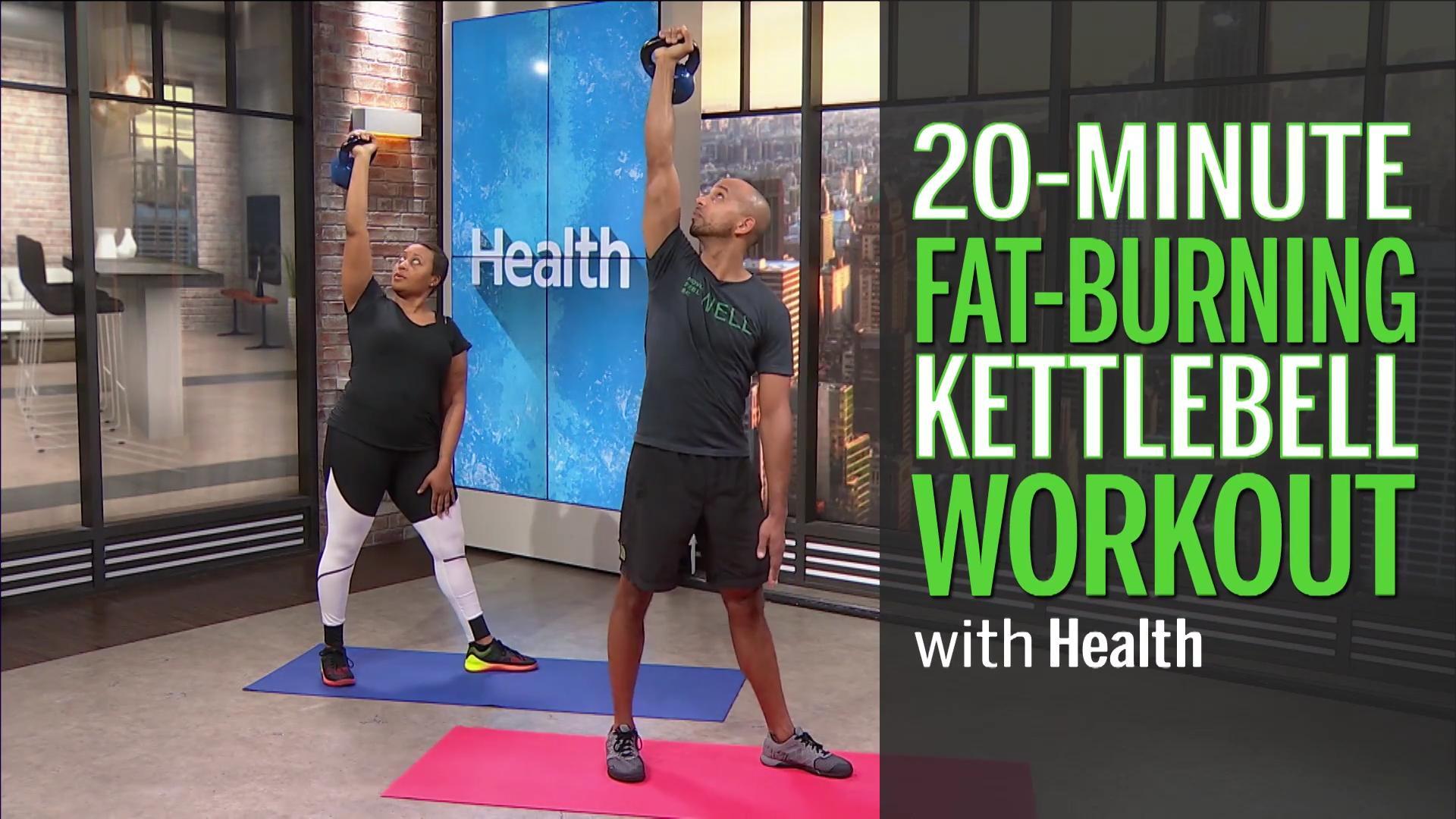 A 20-Minute Fat-Burning Kettlebell Workout