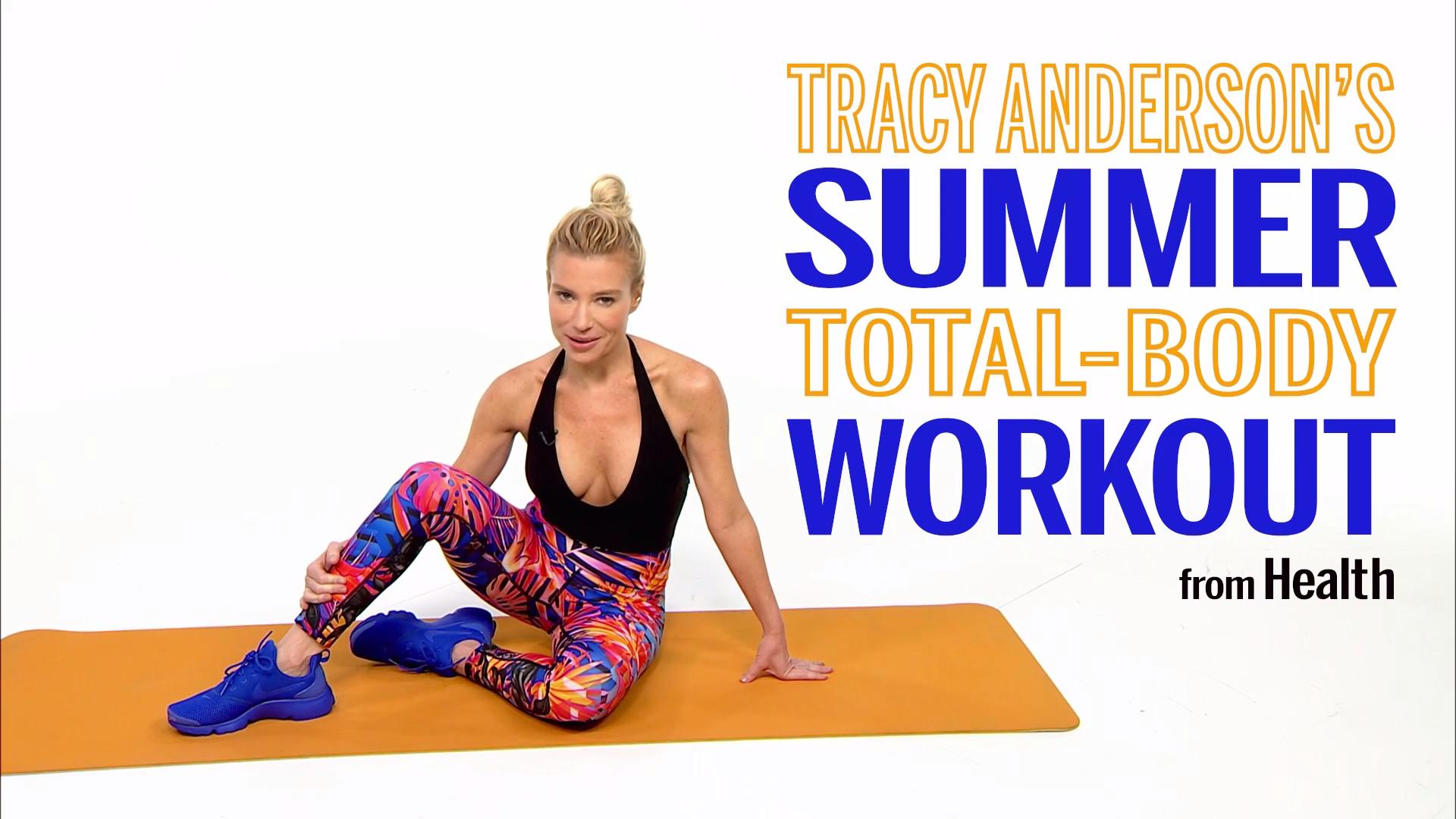 Shape Up for Summer With Tracy Anderson's Beach Body Boot Camp
