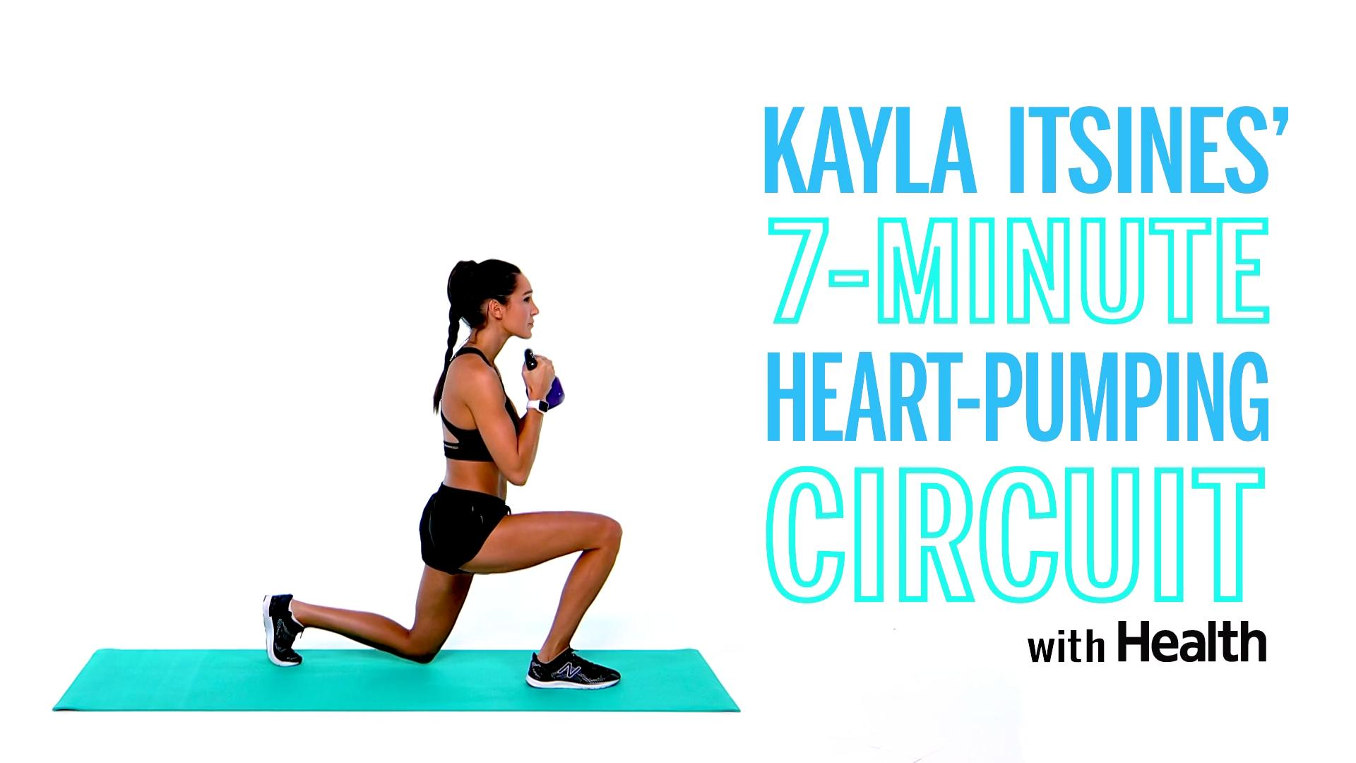 Get Your Heart Pumping With This 7-Minute Circuit From Kayla Itsines