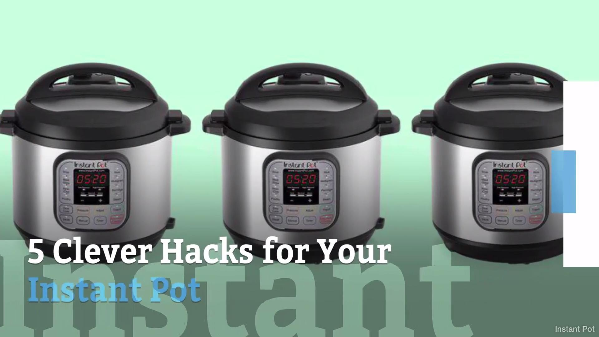 5 Ways to Use Your Instant Pot Instead of Your Stove (and Keep You Kitchen Cooler All Summer)