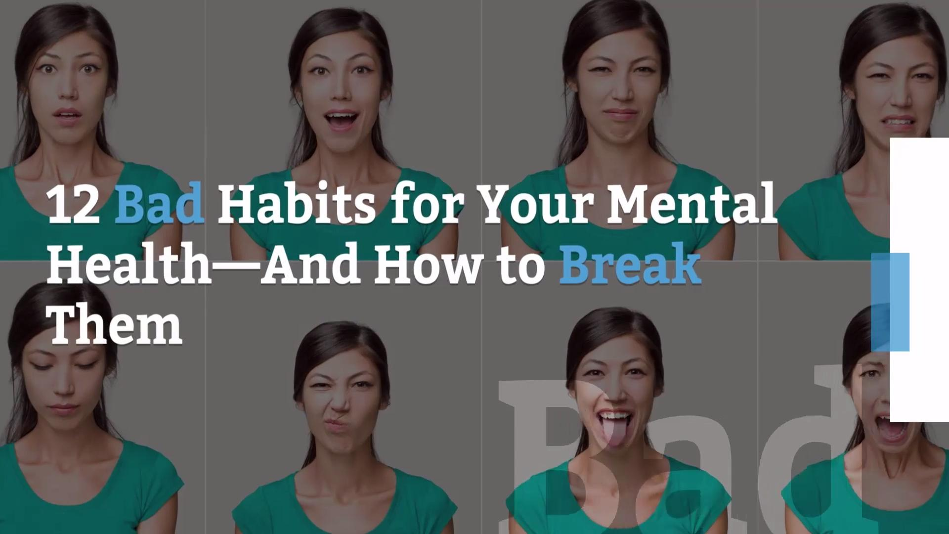 14 Habits That Sabotage Your Mental Health - Health