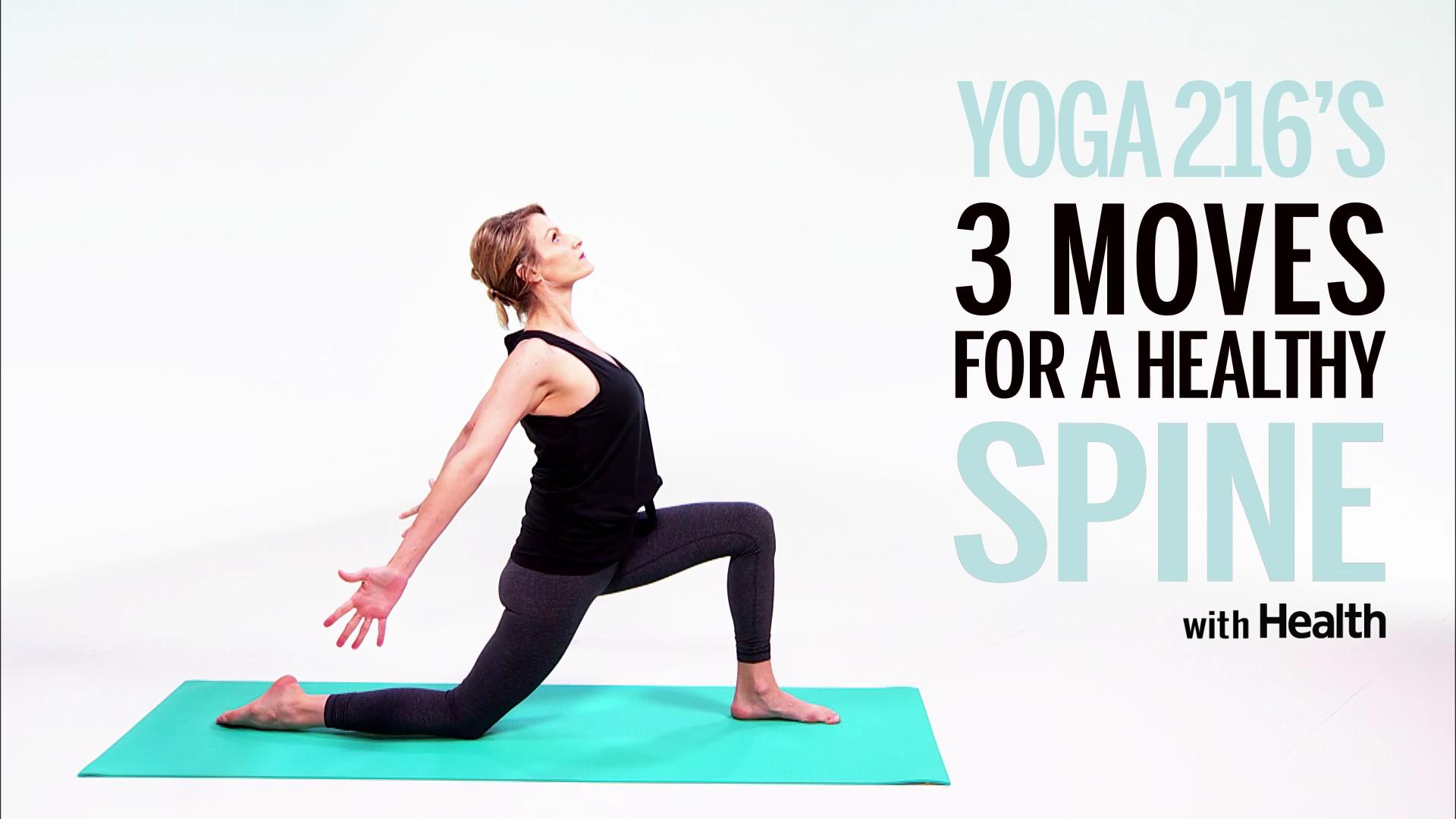 Try These 3 Yoga Moves for a Healthier, Stronger Spine