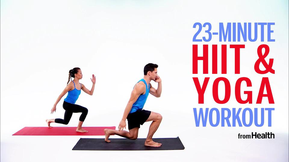 This At-Home Workout Combines HIIT and Yoga for the Ultimate Burn