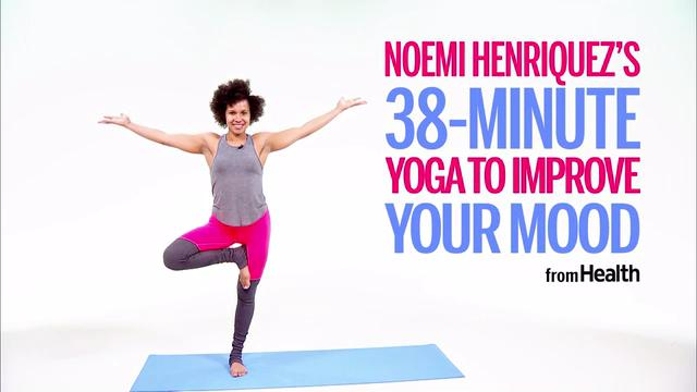 This Yoga Flow Will Instantly Boost Your Mood