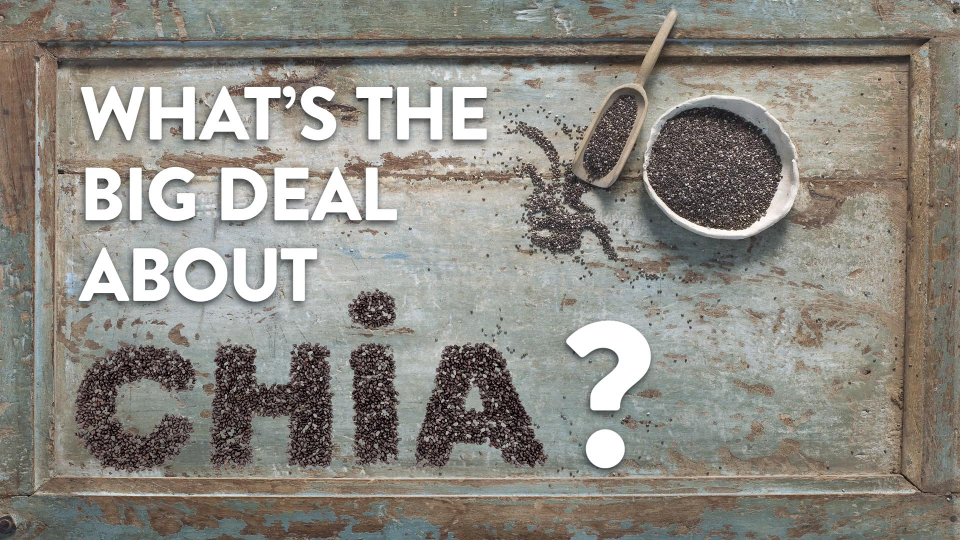 The Real Reason Chia Seeds Are So Good for You