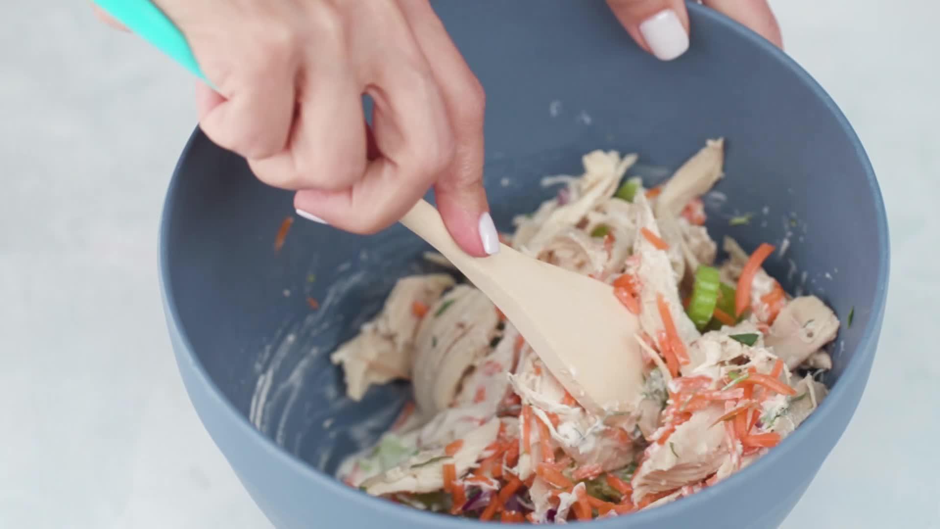 Tarragon Chicken Salad Cups Recipe - Health