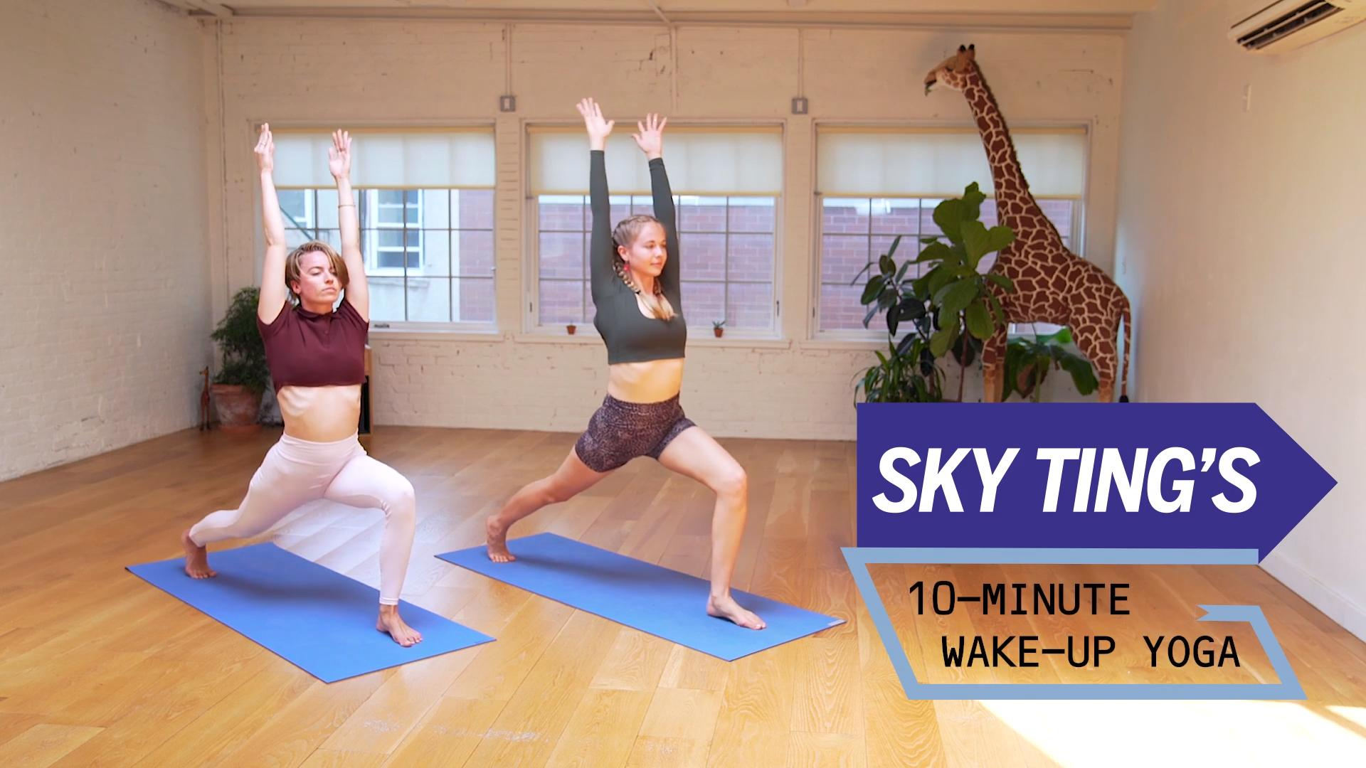 This 10-Minute Wake-Up Yoga Flow Is the Perfect Start to Your Morning