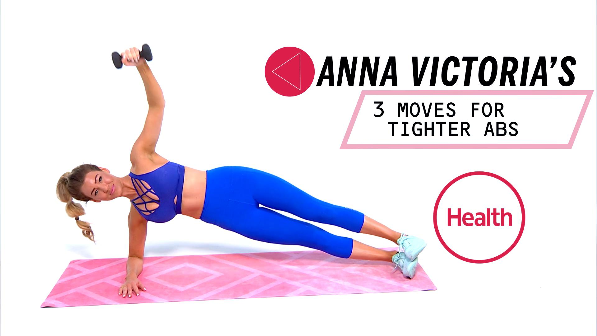 These 3 Moves Will Make You Feel Like Your Abs Are On Fire, In A Good Way
