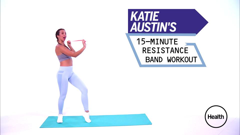 Try This 15-Minute Resistance Band Routine to Work Your Entire Body and Re-Energize Your Day