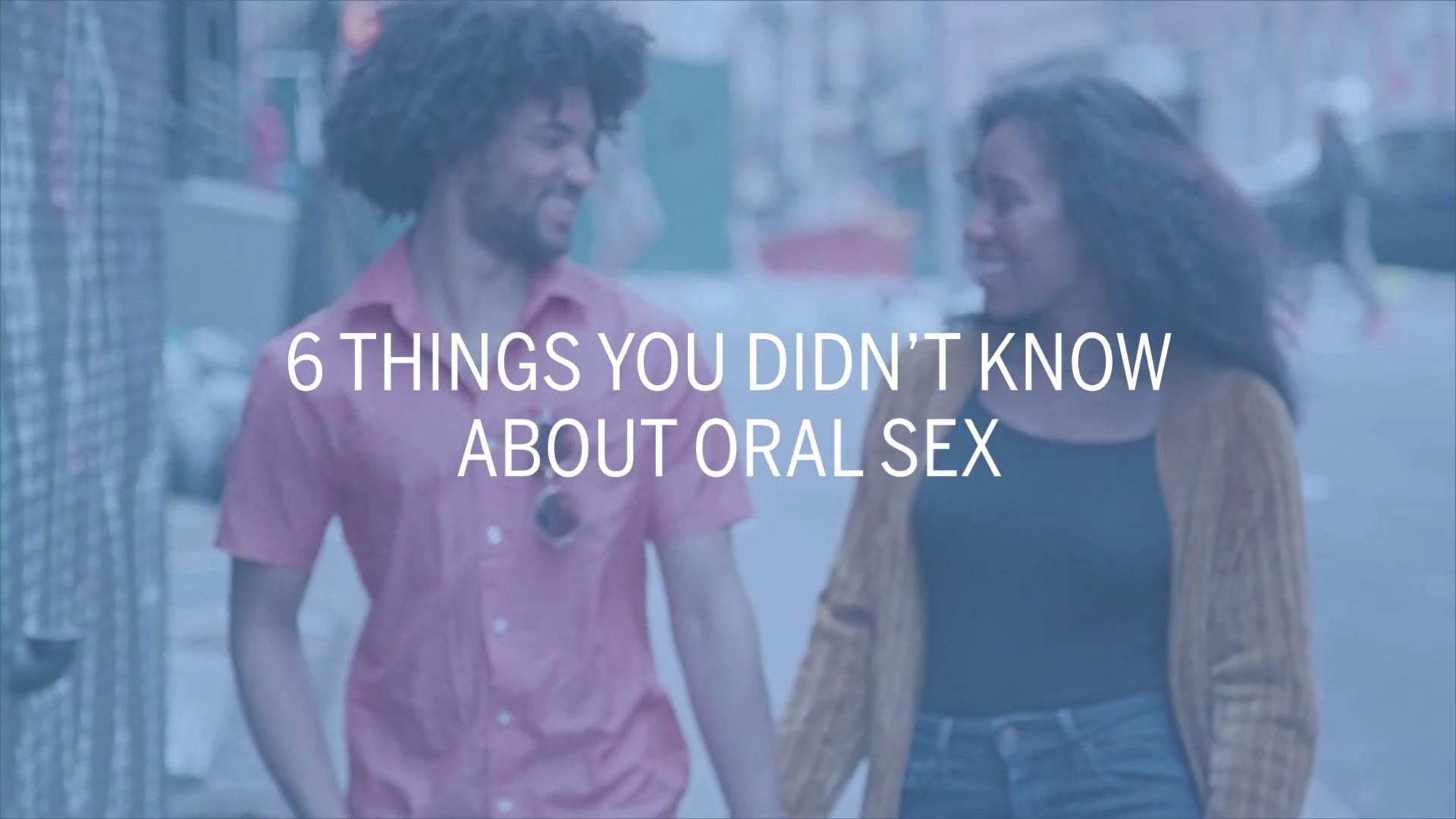 14 Things Every Woman Needs to Know About Oral Sex