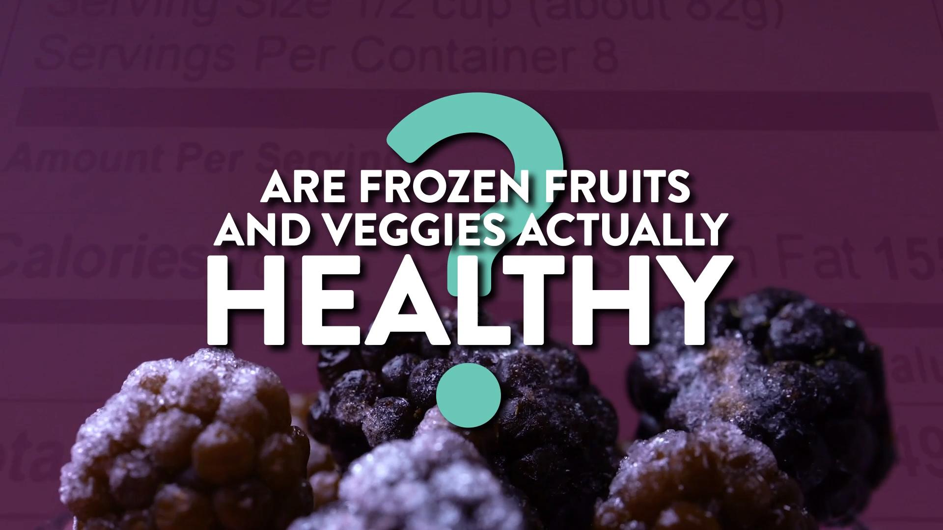 5 Reasons This Nutritionist Buys Frozen Fruits and Veggies