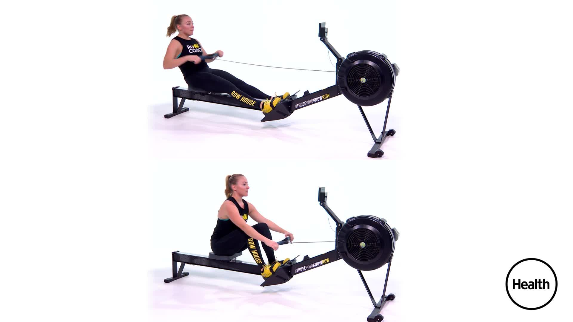 3 Easy Ways to Fix Your Form the Next Time You Hop on a Rowing Machine