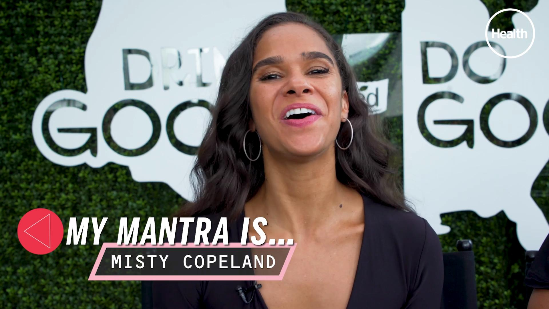 4 Exercises to Steal From Misty Copeland for a Strong Ballerina Body