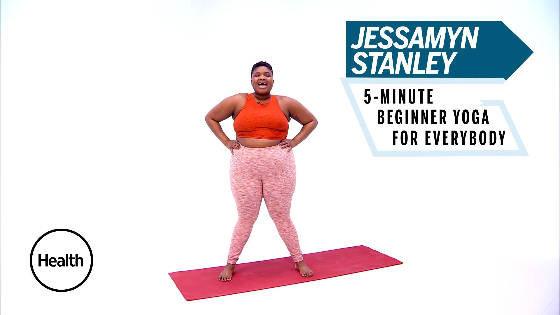 Jessamyn Stanley's 5-Minute Yoga for Beginners