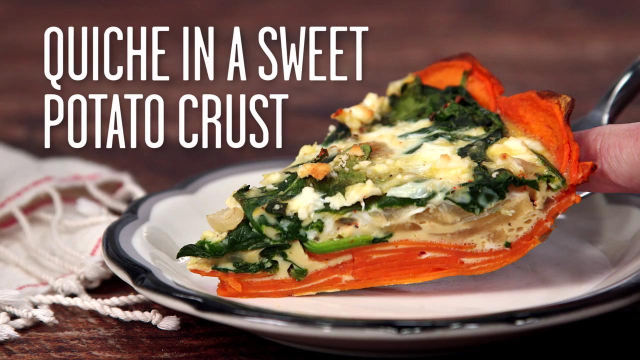 How to Make a Sweet Potato Crust