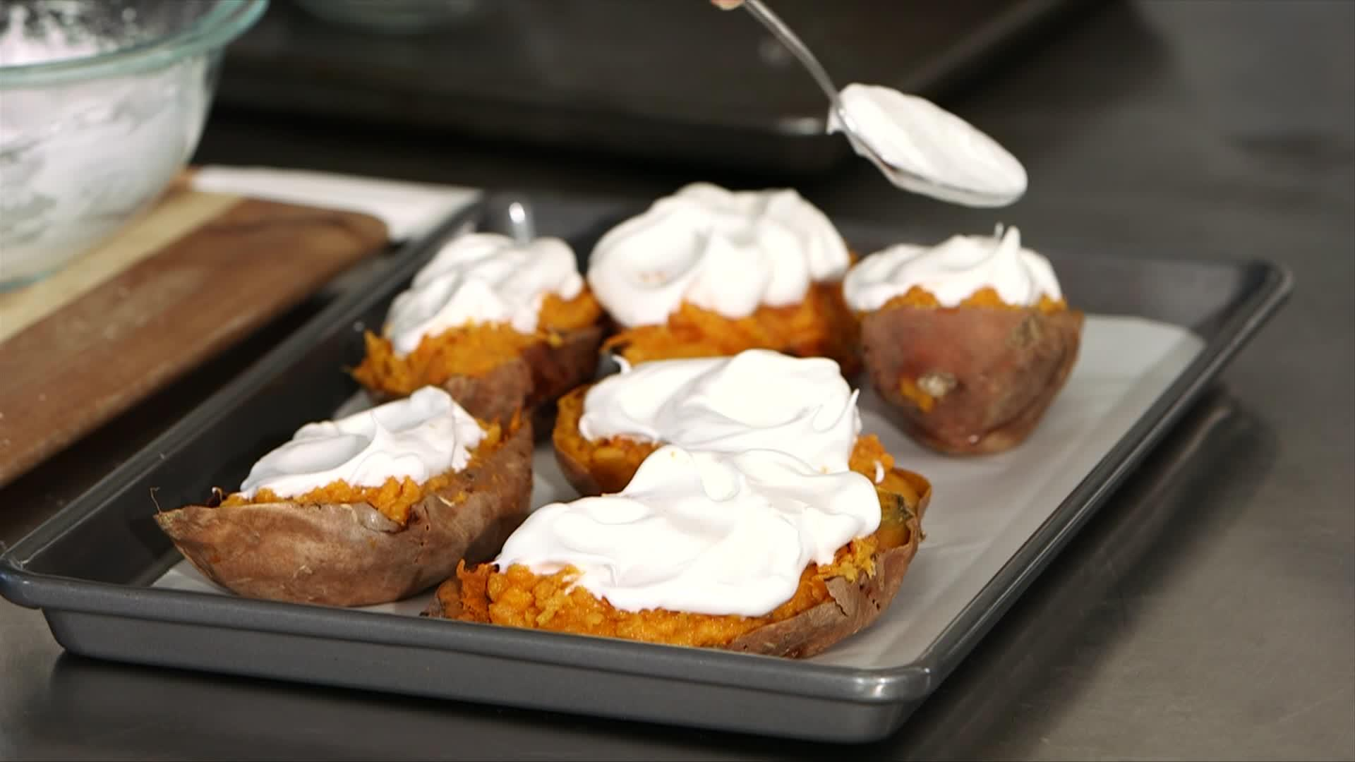 Two Thanksgiving Sweet Potato Sides LIVE