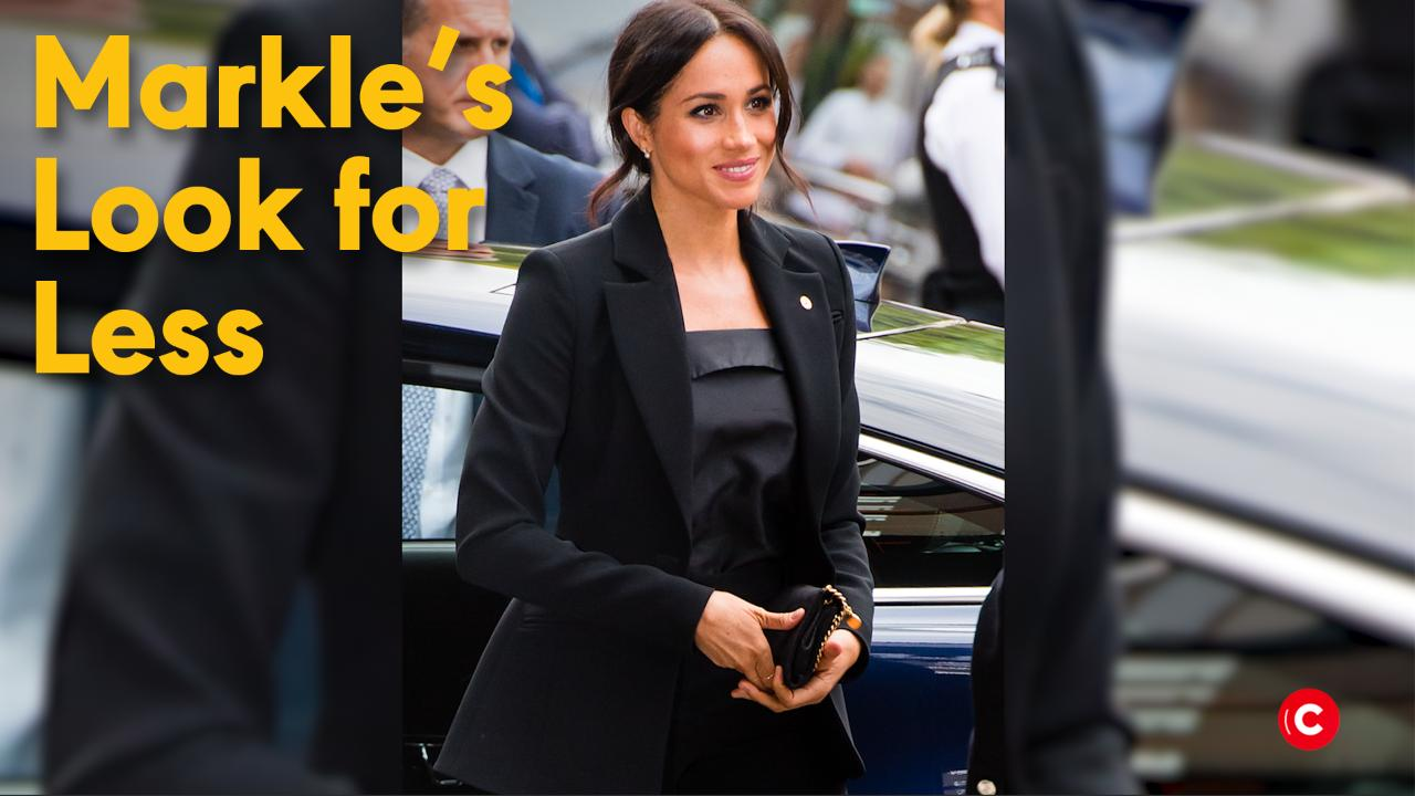 Meghan Markle Just Wore the Ultimate Comfy Travel Outfit, Proving You Have Tons in Common
