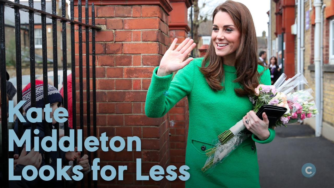 Kate Middleton Plays on a Swing as She Previews Garden Design for Chelsea Flower Show