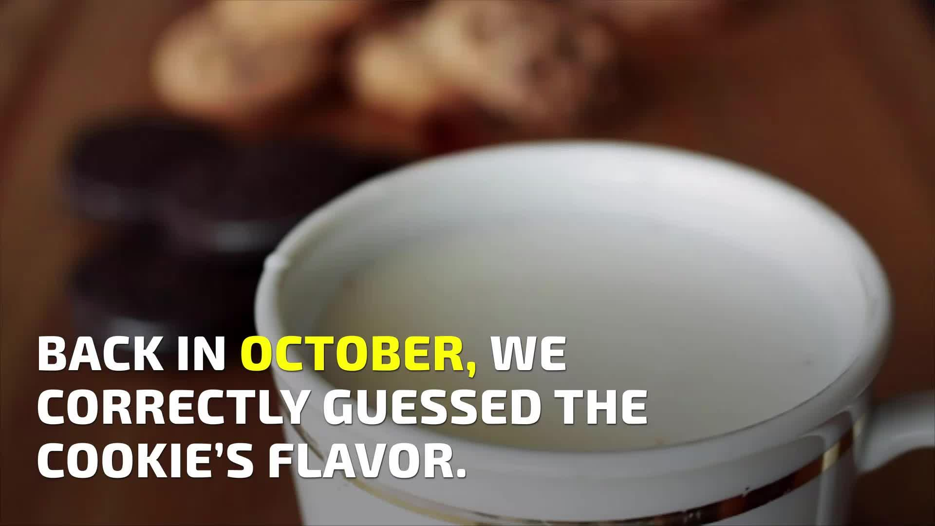 Oreo Just Revealed Its 'Mystery Flavor'