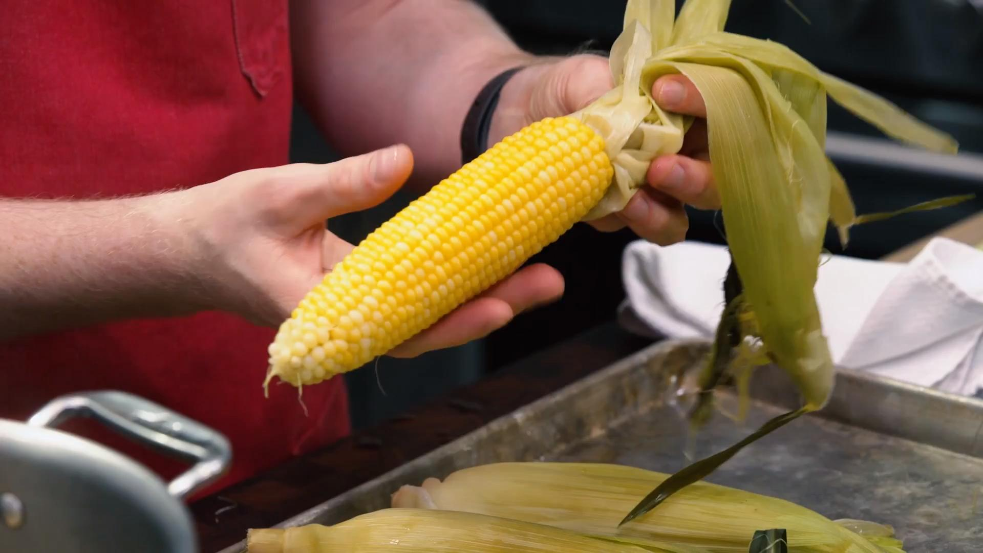 A Better and Faster Way to Shuck Corn