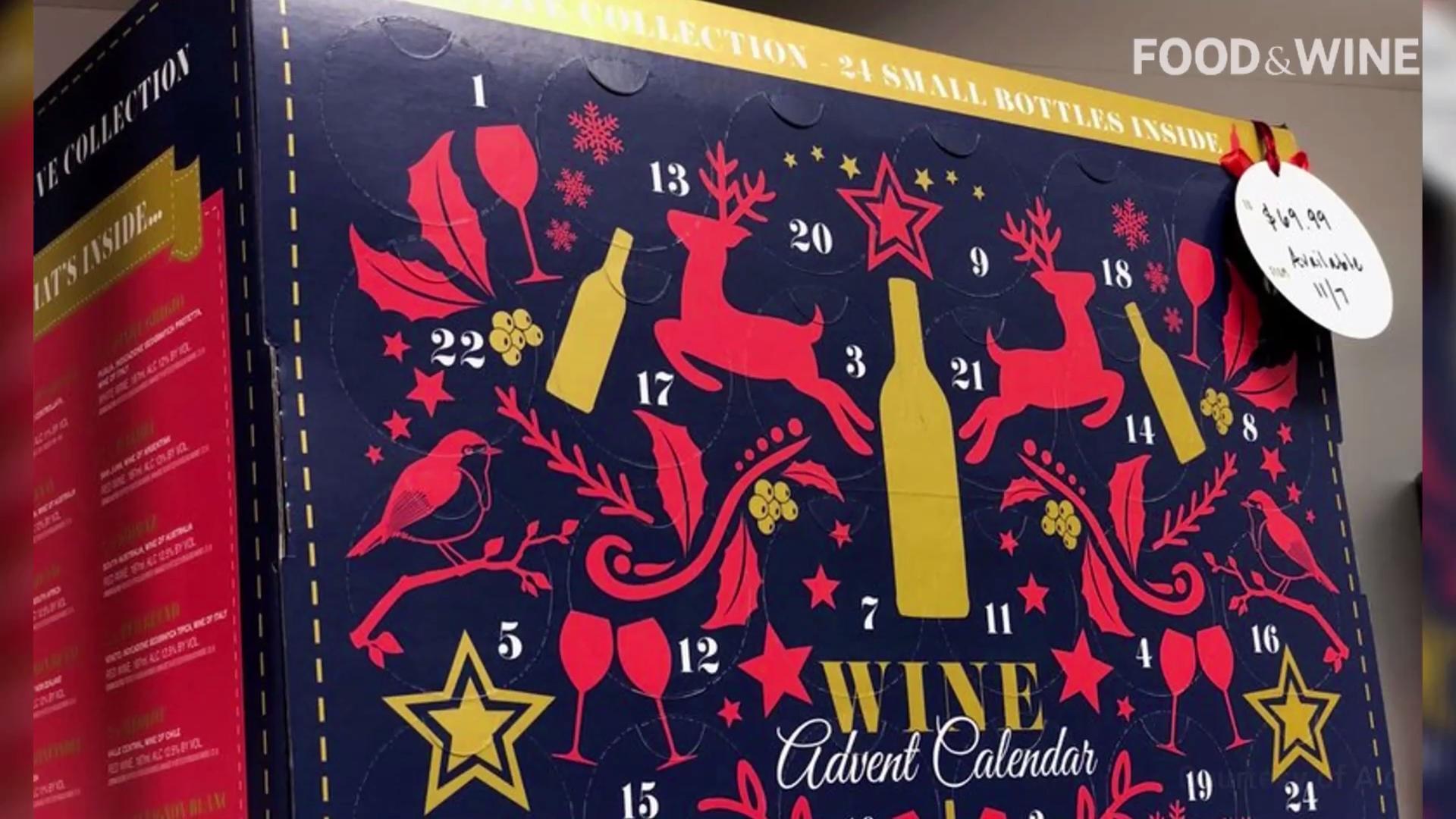 Aldi's Wine Advent Calendar Is Finally Coming to the U.S.