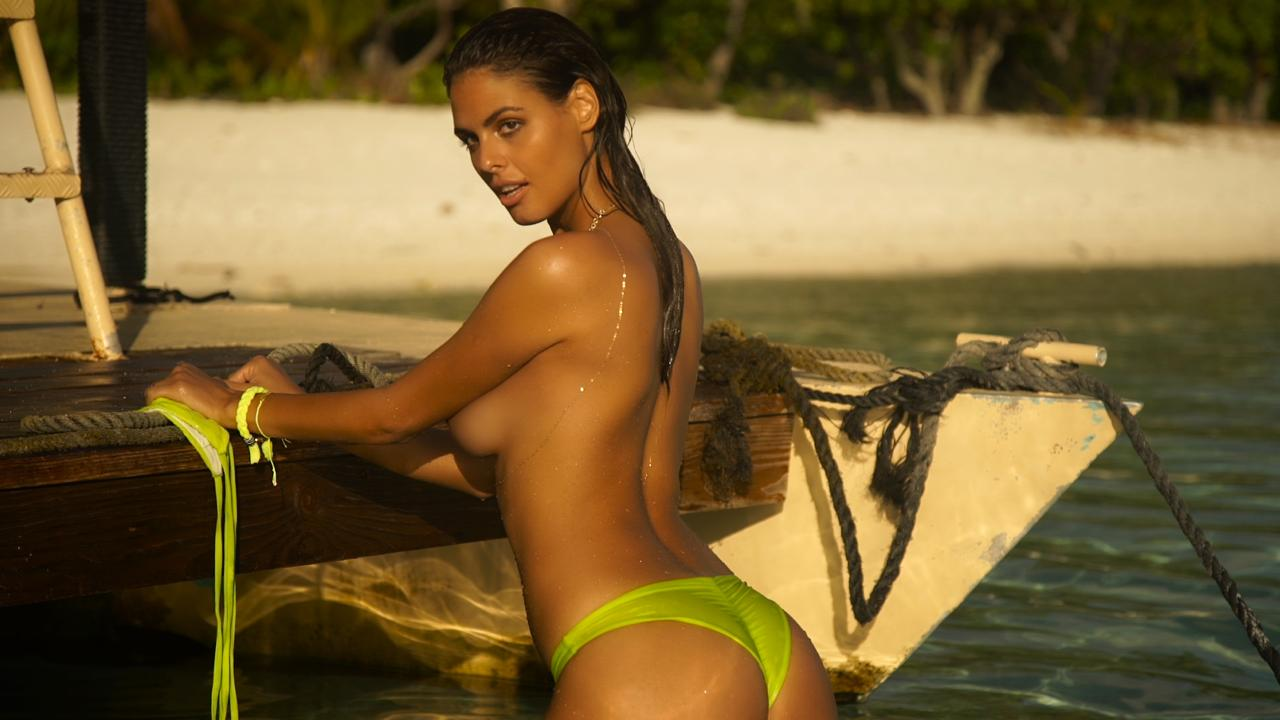 Bo Krsmanovic perfects the art of 'getting wet for the shot'