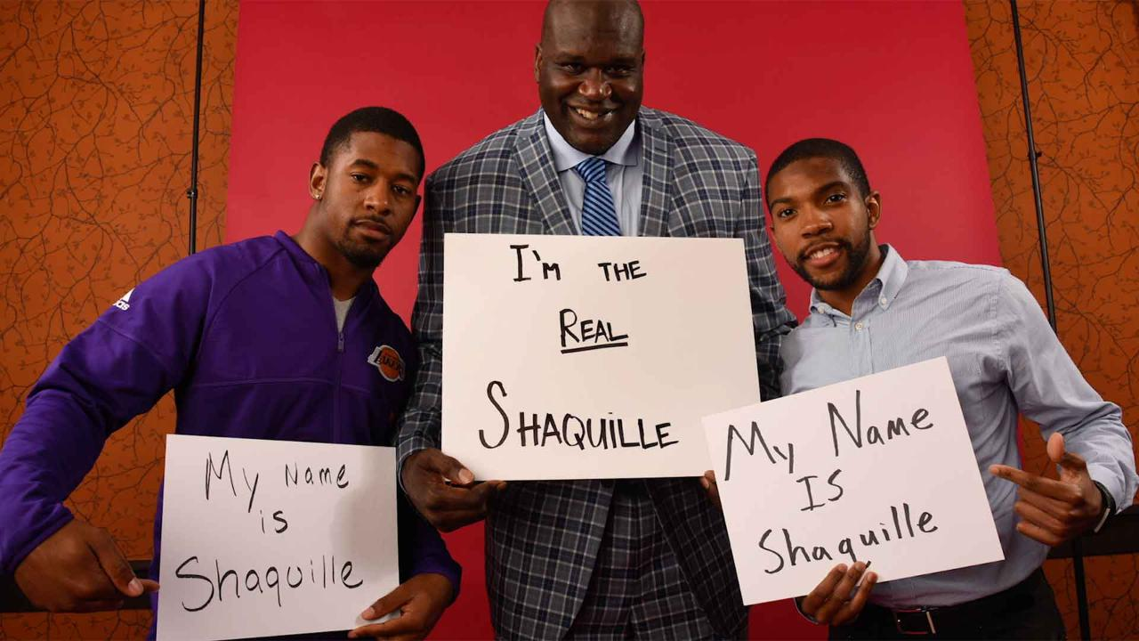 Generation Shaq: Catching up with the kids named after a larger-than-life NBA superstar