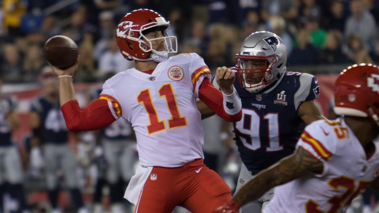 Alex Smith Made the Patriots Look Like Clowns