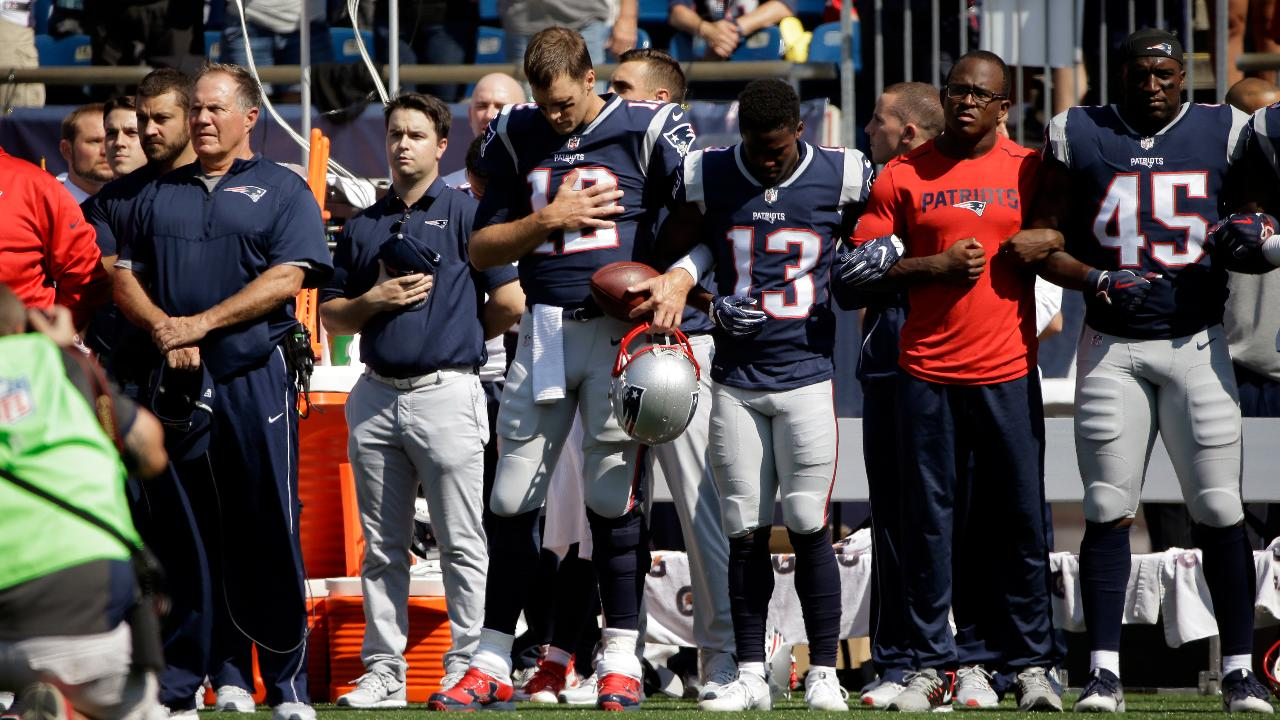 Here's What NFL Rules Say About Standing for the National Anthem