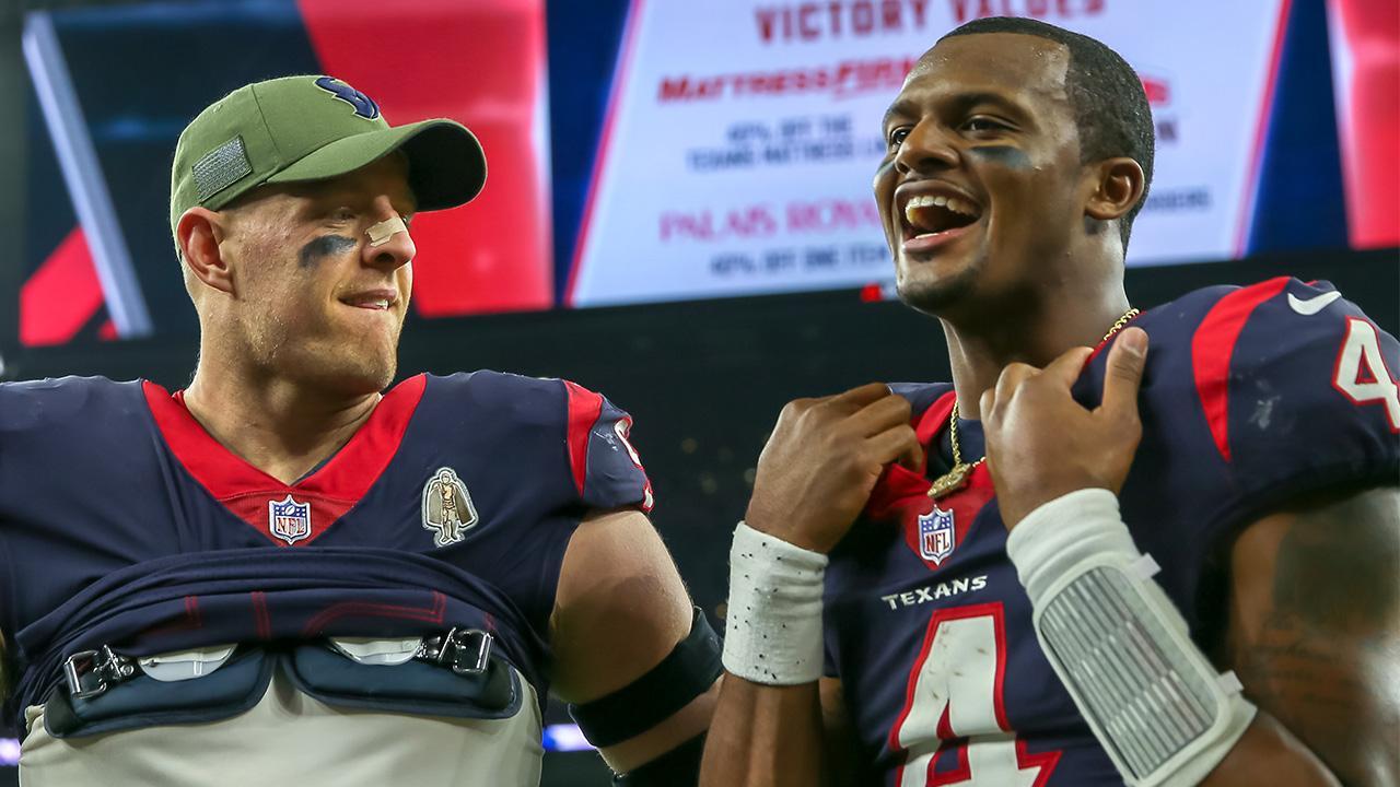 J.J. Watt Dedicates Texans' Monday Night Football Win to Late Owner Bob McNair