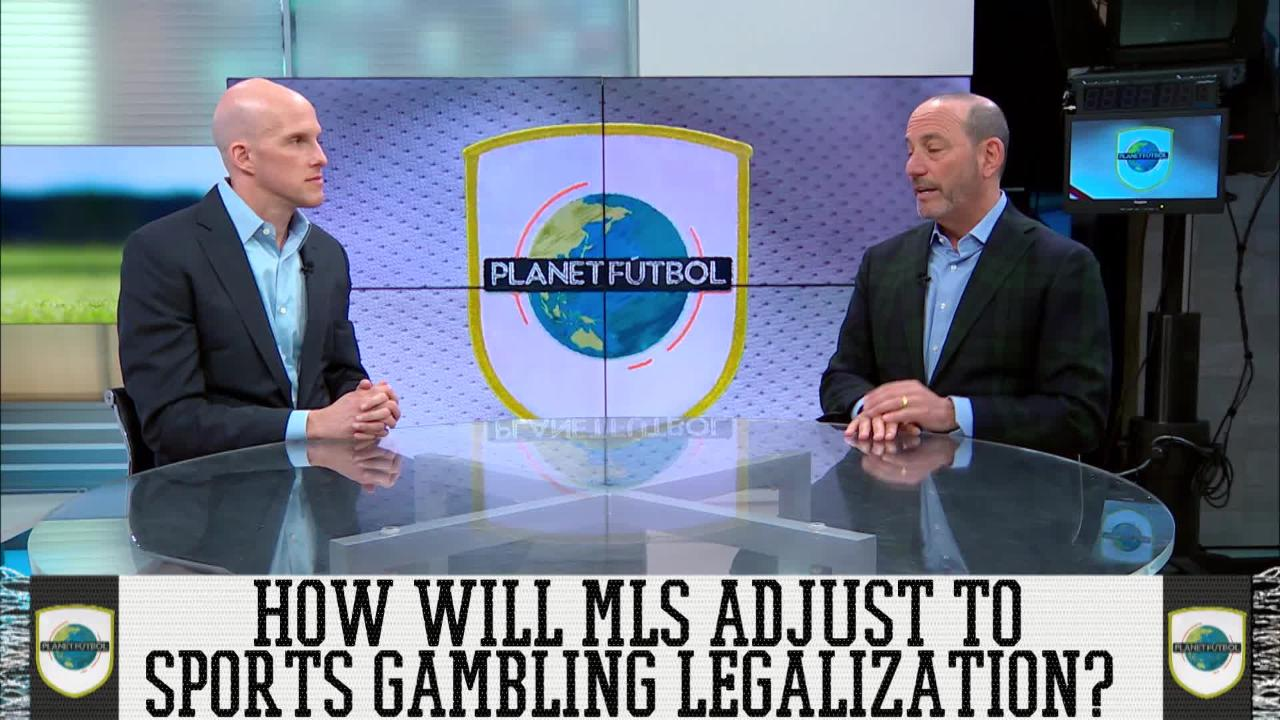 """MLS Commissioner On Sports Gambling: """"We Might As Well Find A Way To Monetize It"""""""