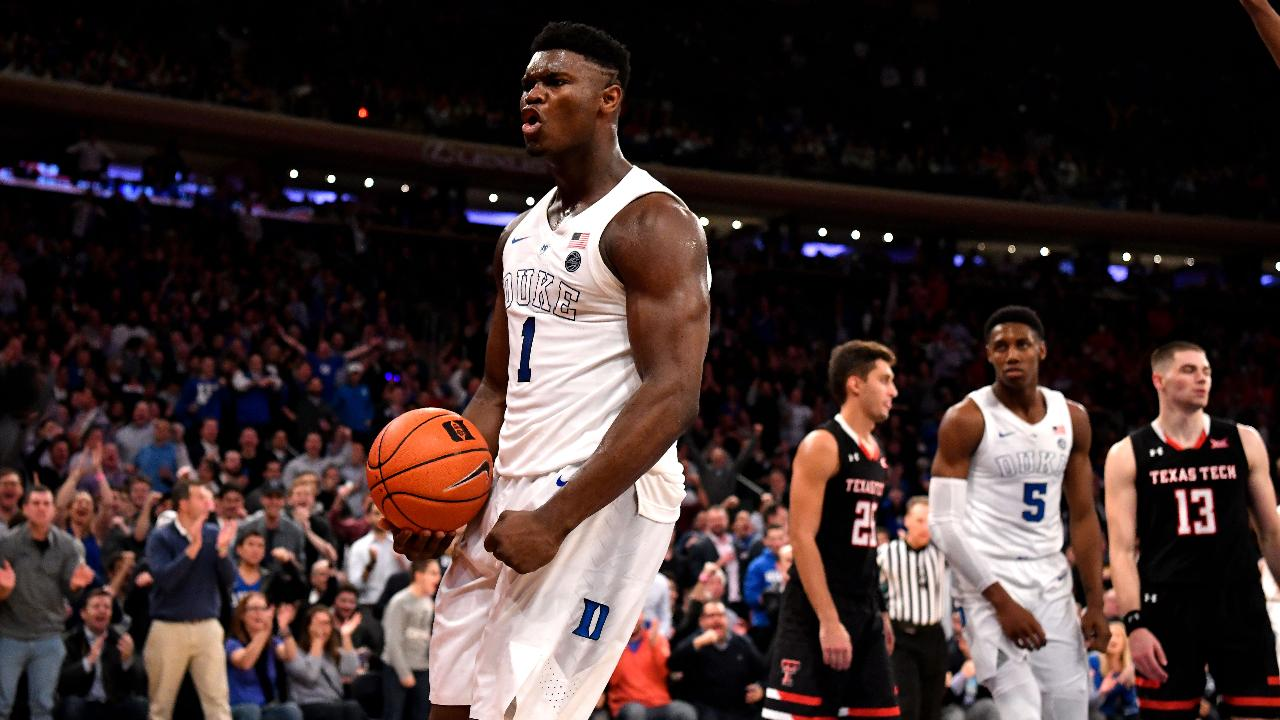 Duke's Zion Williamson Named 2019 ACC Player of the Year