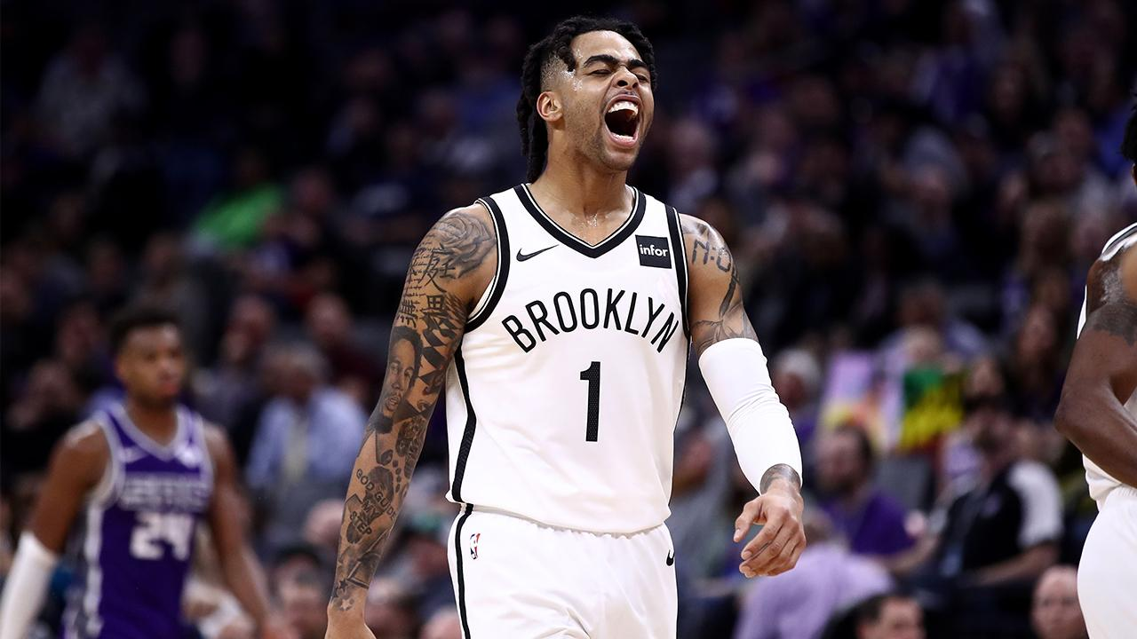 D'Angelo Russell Gets Revenge on Former Team as Nets Eliminate Lakers From Playoffs