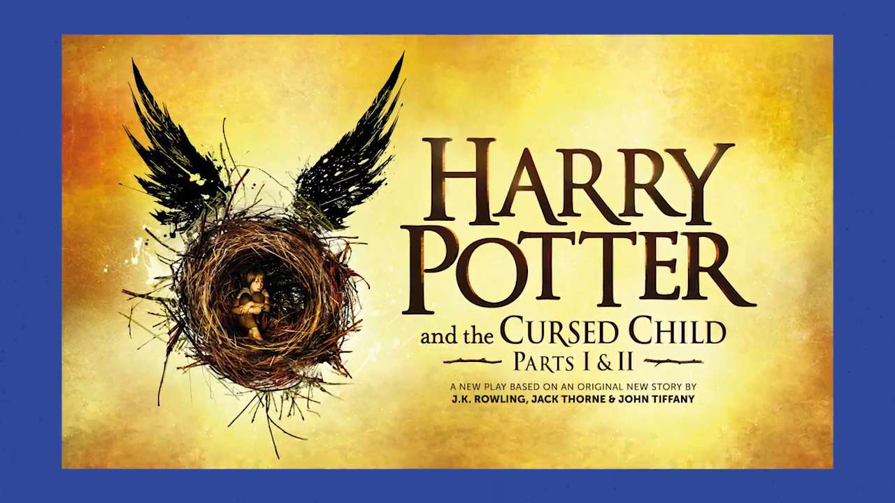 EW News Flash: J.K. Rowling reveals the art for Harry Potter and the Cursed Child play