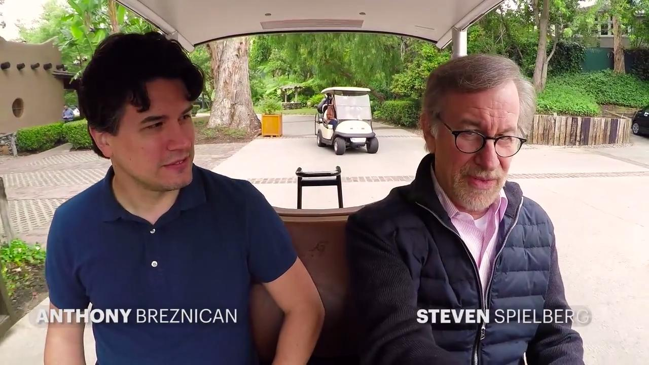 Steven Spielberg: Director's video tour of Universal backlot