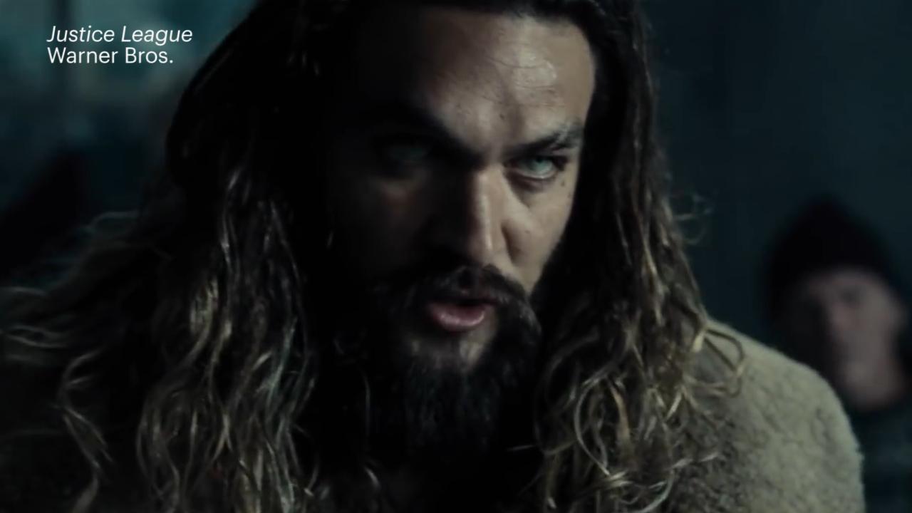 See Jason Momoa in action as Aquaman in new Justice League footage