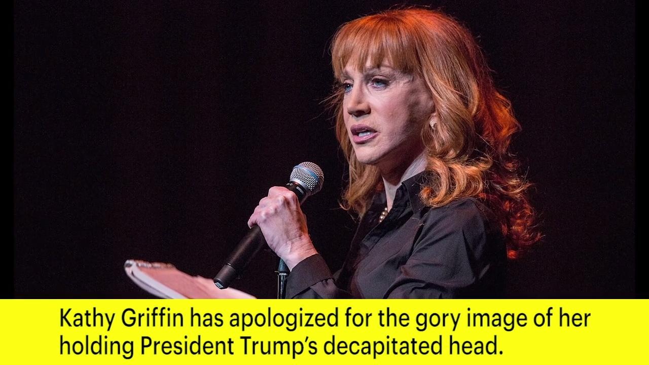 Kathy Griffin is 'no longer sorry' for infamous Trump photo