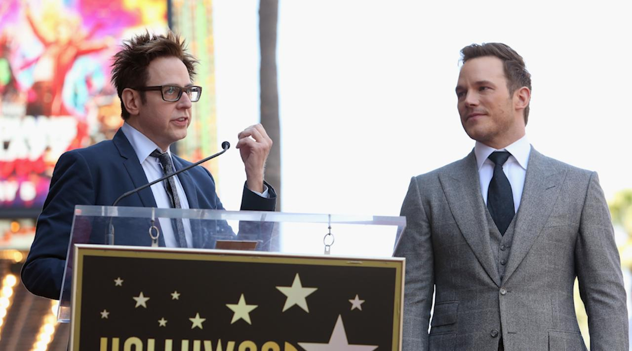 Chris Pratt 'Thrilled' to Have James Gunn Back as Guardians Director After Controversial Firing