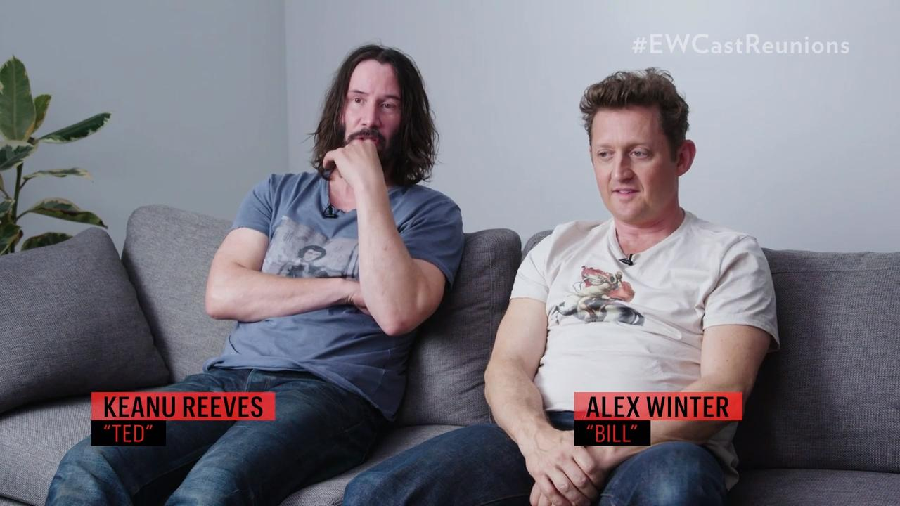 Bill and Ted Face the Music writer describes 'moving' script meeting with Keanu Reeves and Alex Winter