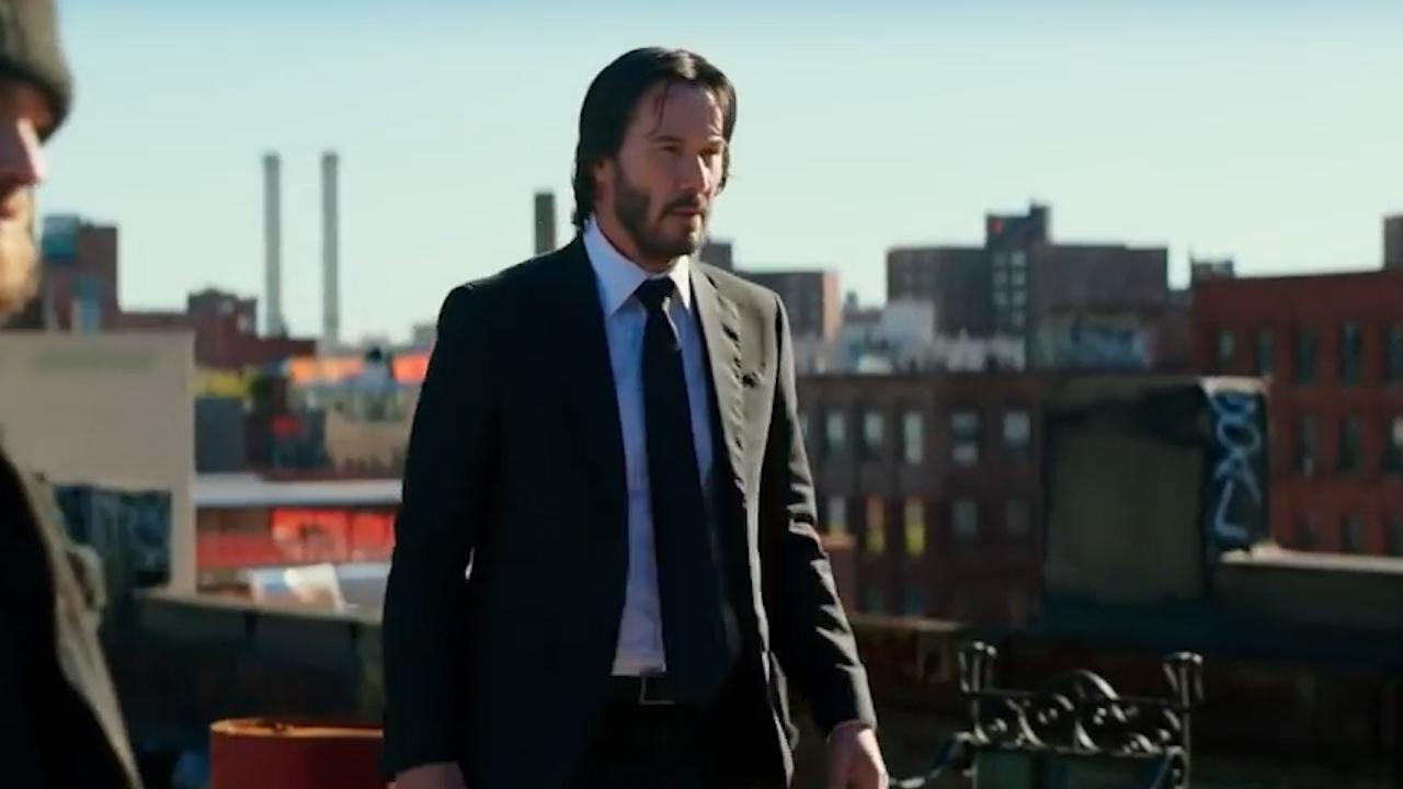 Watch Keanu Reeves 'train his a-- off' in John Wick 3 behind-the-scenes clip