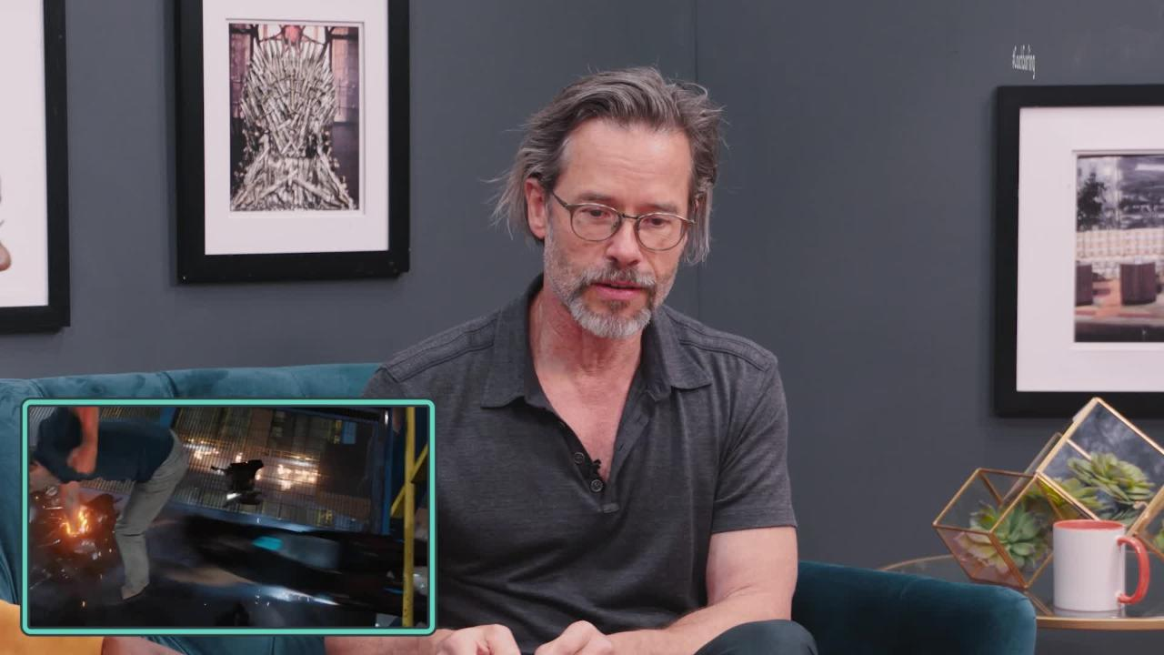 Guy Pearce found 'Iron Man's kryptonite' during fight scene with Robert Downey Jr.